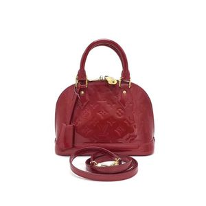 Louis Vuitton 路易·威登经典漆皮alma bb贝壳包