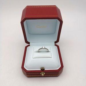 Cartier 卡地亚钻石戒指