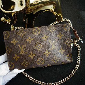 Louis Vuitton路易.威登老花mini手拿包