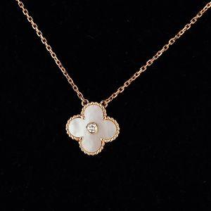 Van Cleef Arpels 梵克雅宝VintageAlhambra18k玫瑰金白色珍珠项链