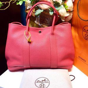 Hermès 爱马仕花园派对手提包