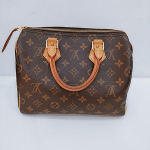 Louis Vuitton 路易·威登speedy老花SP25经典枕头包