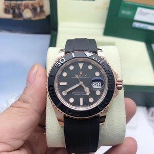 Rolex 劳力士游艇名仕116655玫瑰金材质机械腕表