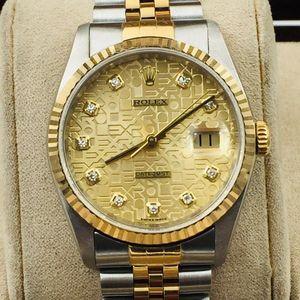 Rolex 劳力士经典男款劳力士16233g自动机械腕表