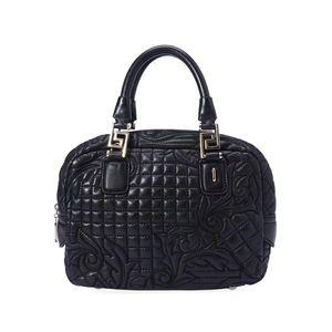 Versace 范思哲羊皮手提包