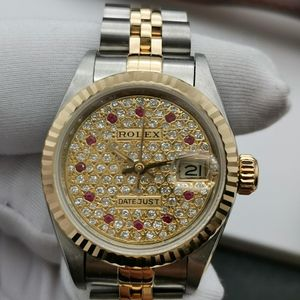 Rolex 劳力士69173满天星钻女士手表自动机械女表