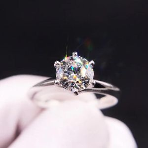Tiffany & Co. 蒂芙尼pt950铂金一克拉钻石戒指