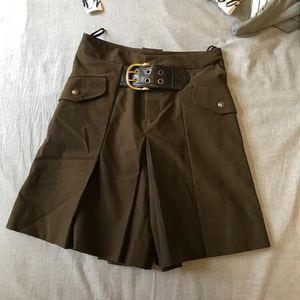 GUCCI 古驰栗色短裤