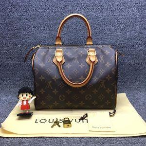 Louis Vuitton 路易·威登sp25老花无肩带款手提包