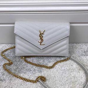 Yves Saint Laurent 伊夫·圣罗兰女士信封斜挎包