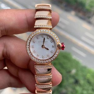 BVLGARI 宝格丽型号102503玫瑰金材质石英女表