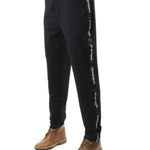 Emporio Armani 安普里奥·阿玛尼男士修身松紧带休闲裤长裤
