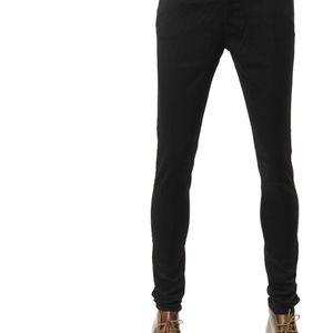 Emporio Armani 安普里奥·阿玛尼男士纯色修身休闲裤长裤