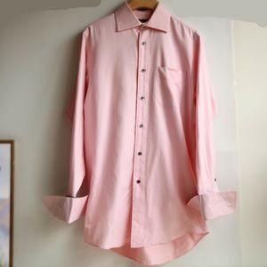 Burberry 博柏利YF07138粉系可折叠长袖衬衫