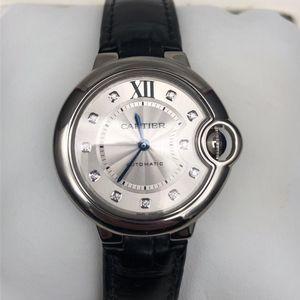 Cartier 卡地亚W4BB0009蓝气球自动机械女士腕表