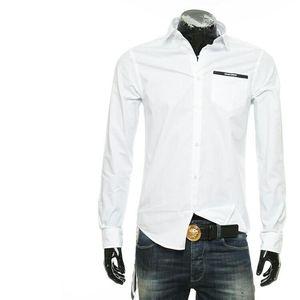 Emporio Armani EA 阿玛尼男士简约商务长袖衬衫上衣