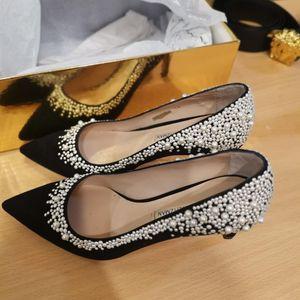 stuart weitzman 斯图尔特·韦茨曼限量珍珠高跟鞋