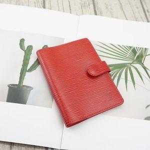 Louis Vuitton 路易·威登红色水波纹手账本笔记本夹
