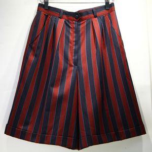 Burberry 博柏利YF07135英伦风红蓝条格纹休闲裤