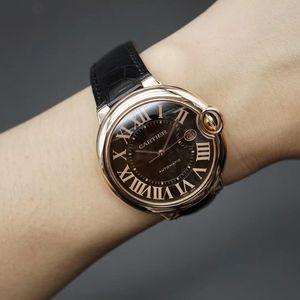 Cartier卡地亚蓝气球系列w6920037男士机械腕表