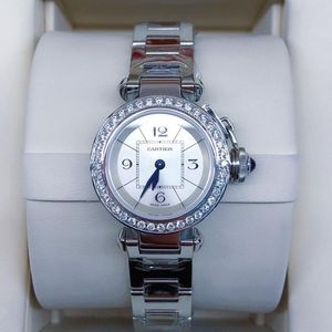 Cartier 卡地亚帕莎系列后钻女士石英腕表