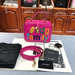 DOLCE&GABBANA 杜嘉班纳family盒子单肩包