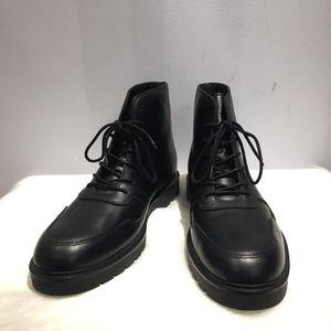 Alexander Wang 亚历山大·王男士皮质休闲短靴
