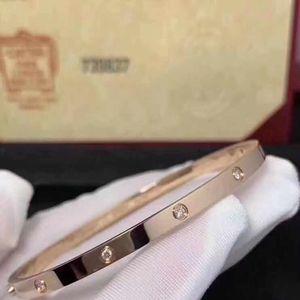 Cartier 卡地亚窄版钻石手镯