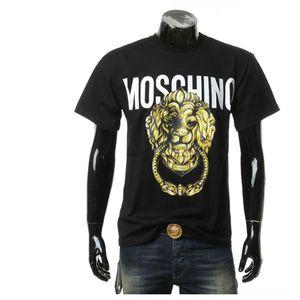 Moschino 莫斯奇诺男士狮头休闲短袖