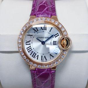 Cartier 卡地亚蓝气球系列小号后钻女士石英腕表