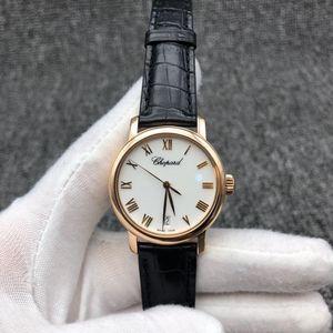 Chopard 萧邦CLASSIC系列18k玫瑰金女士腕表