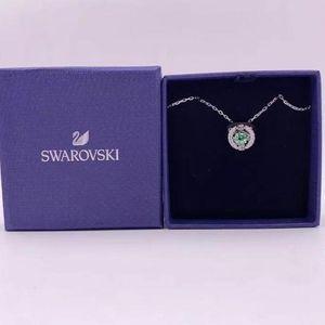 SWAROVSKI 施华洛世奇跳动的心绿色项链