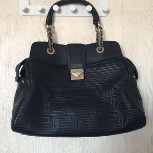 Versace 范思哲经典花纹手提包
