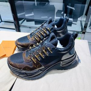 Louis Vuitton 路易·威登老花拼运动鞋