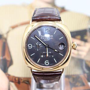 Panerai 沛纳海18k玫瑰金自动机械腕表