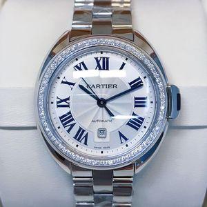 Cartier 卡地亚钥匙系列自动机械后钻女士腕表