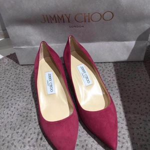 Jimmy Choo 周仰杰低跟鞋