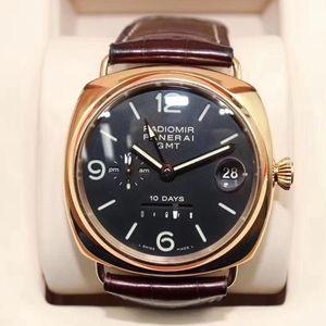 Panerai 沛纳海PAM00273限量珍藏系列18k玫瑰金男士腕表