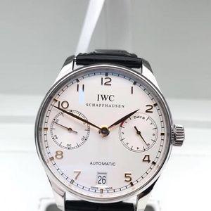 IWC 万国iw500114葡萄牙七日链自动机械男表