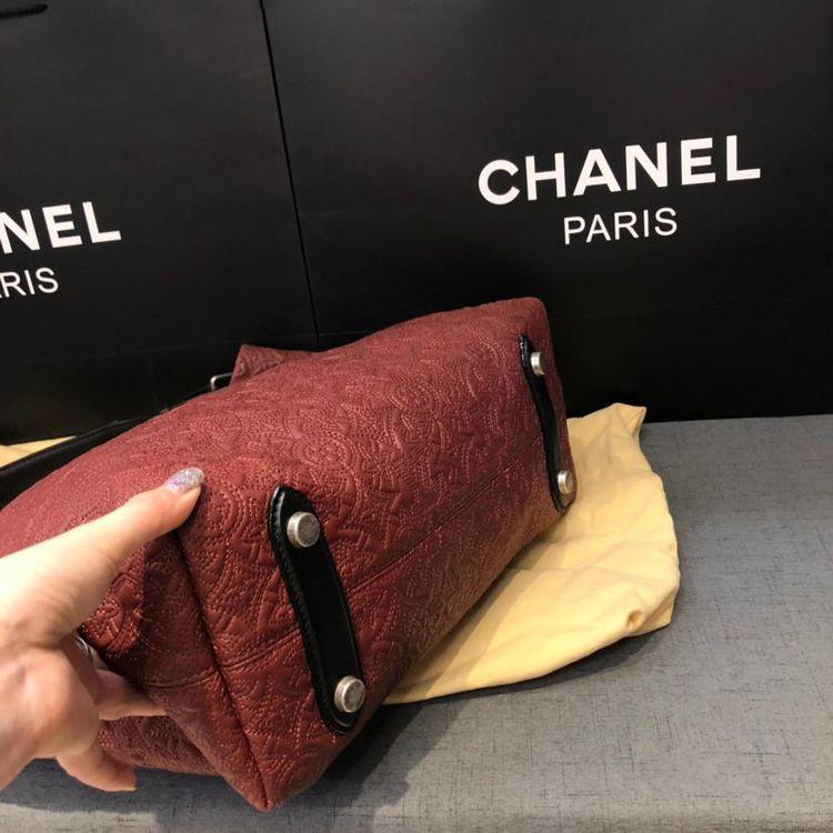 Louis Vuitton 路易·威登立体浮雕压花antheia hobo手袋