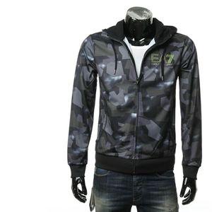 Emporio Armani EA7 阿玛尼男士休闲迷彩夹克外套