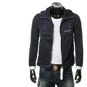 Emporio Armani EA 阿玛尼男士运动连帽夹克外套
