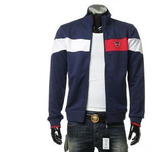 Emporio Armani EA7 阿玛尼男士拼色开衫卫衣外套