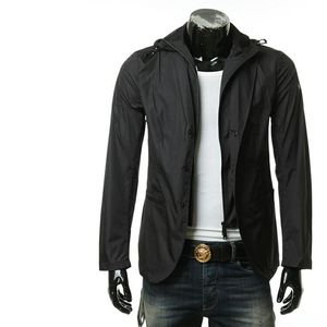 Emporio Armani 安普里奥·阿玛尼男士假2件西装外套