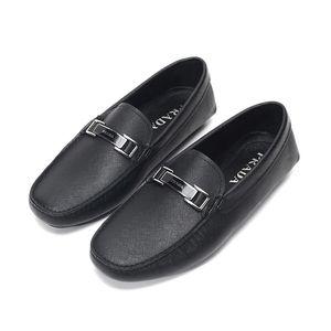 PRADA 普拉达男士皮革乐福鞋皮鞋
