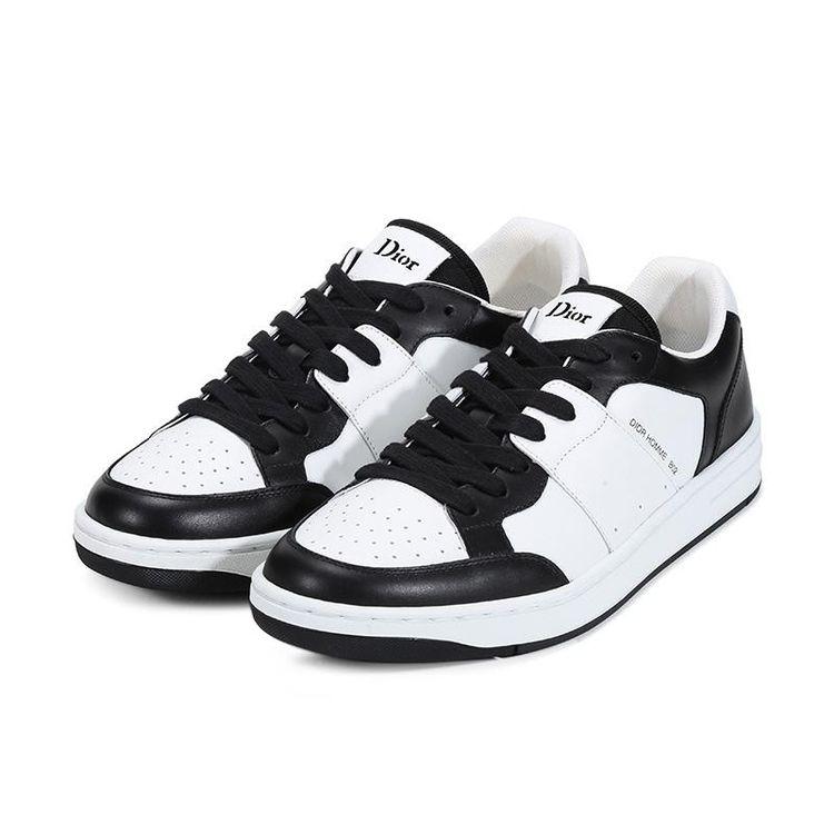 Dior 迪奥男士皮革系带运动鞋