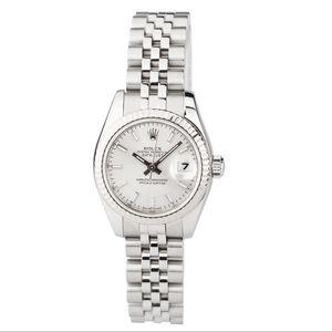 Rolex 劳力士179174银盘机械腕表