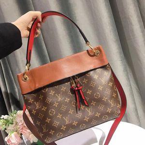 Louis Vuitton 路易·威登老花拼皮手提包