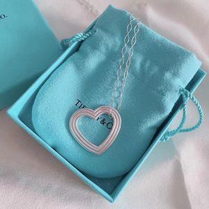 Tiffany 爱心项链