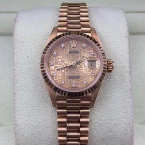 Rolex 劳力士日志型69178金劳机械表
